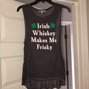Expresss St. Patty Day Top
